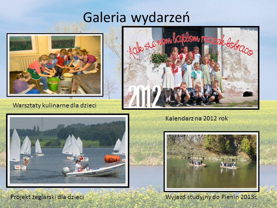 Galeria wydarzeń Warsztaty kulinarne dla dzieci Projekt żeglarski dla dzieci Kalendarz na 2012 rok Wyjazd studyjny do Pienin 2013r.