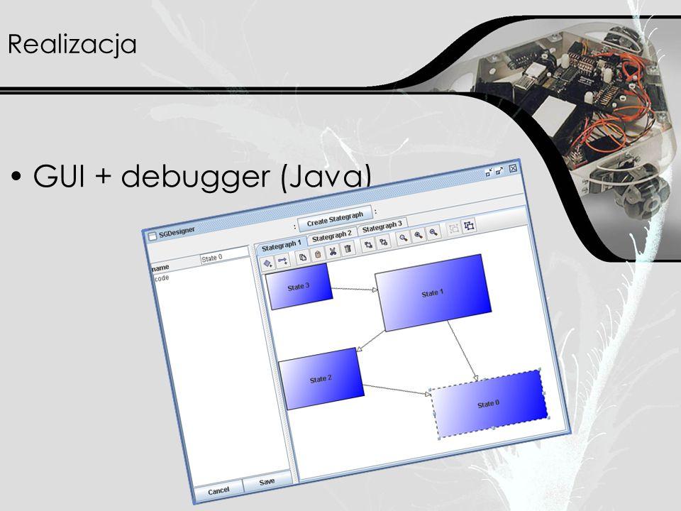 Realizacja GUI + debugger (Java)