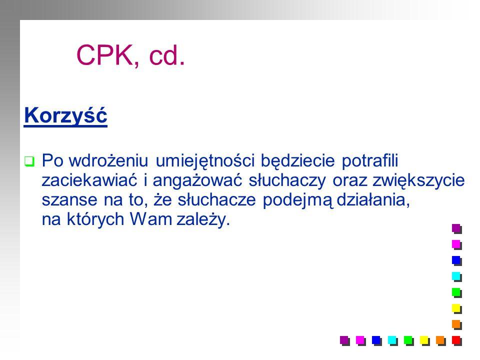 CPK, cd.