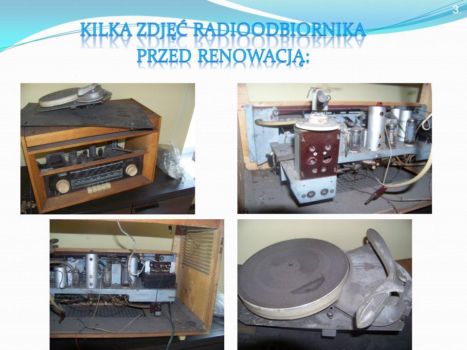 Fale radiowe: odbierane przez radio, wytwarza antena nadawcza.