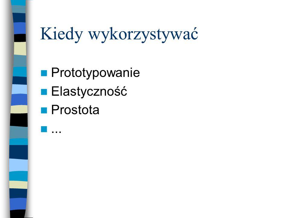 Kiedy wykorzystywać Prototypowanie Elastyczność Prostota...