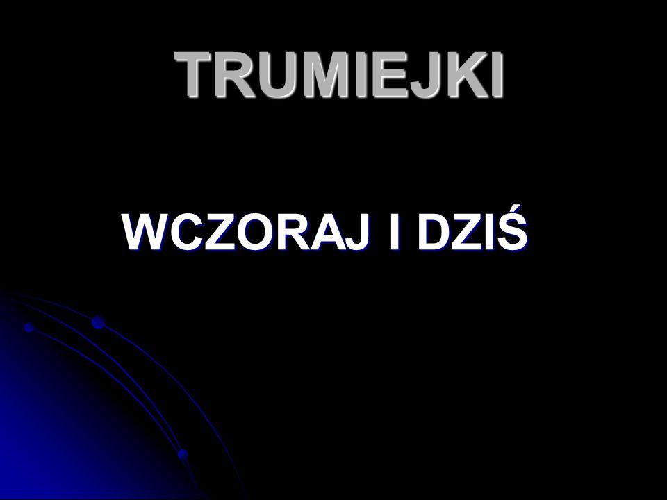 O Trumiejkach kilka słów Trumiejki to wieś położona w Polsce, Trumiejki to wieś położona w Polsce, w województwie pomorskim, w powiecie kwidzyńskim, w gminie Prabuty.