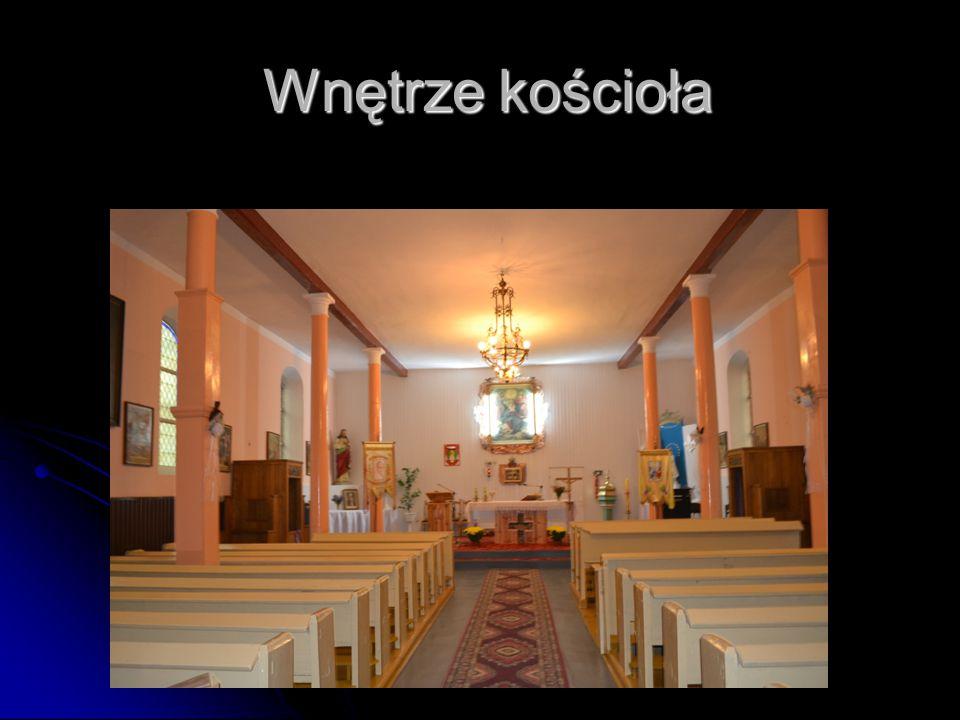 Wnętrze kościoła Wnętrze kościoła