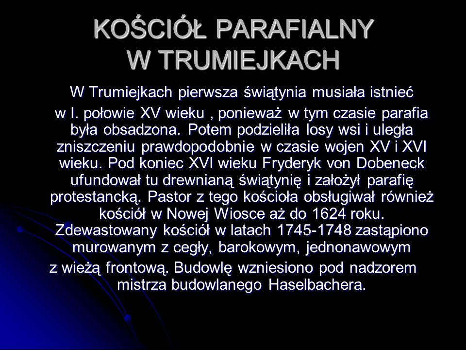 Po II wojnie światowej od 1946 roku w tym samym budynku zaczęła działać polska szkoła.