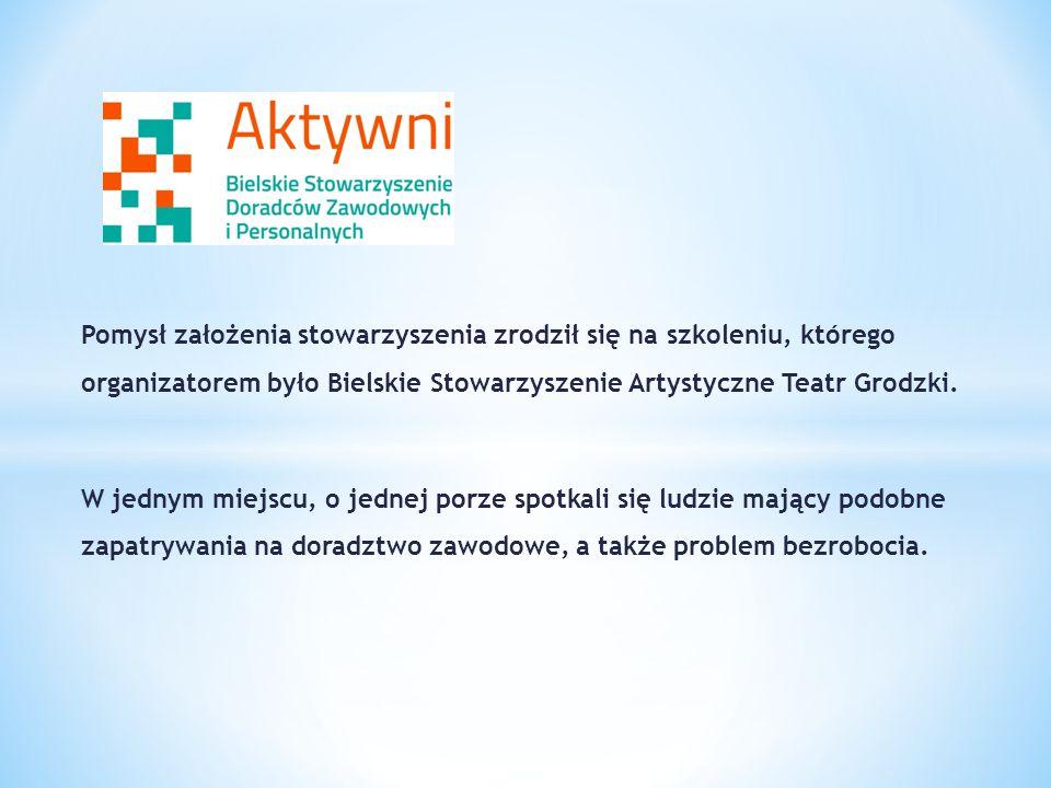 Pomysł założenia stowarzyszenia zrodził się na szkoleniu, którego organizatorem było Bielskie Stowarzyszenie Artystyczne Teatr Grodzki. W jednym miejs