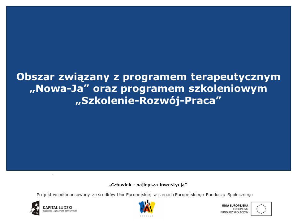 """""""Człowiek - najlepsza inwestycja Projekt współfinansowany ze środków Unii Europejskiej w ramach Europejskiego Funduszu Społecznego."""