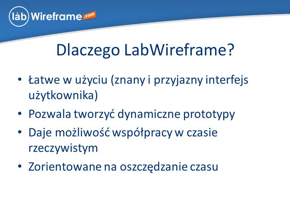 Dlaczego LabWireframe.