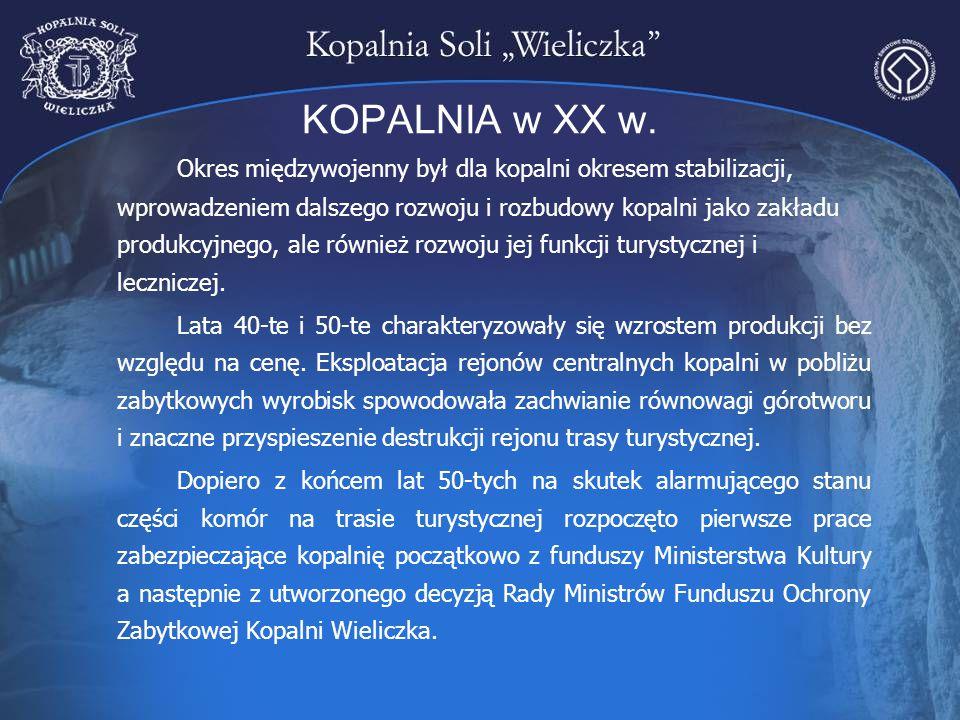 KOPALNIA w XX w.