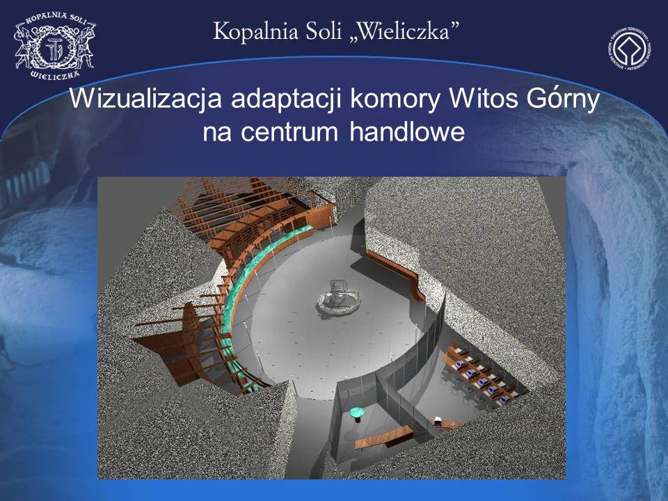 Wizualizacja adaptacji komory Witos G ó rny na centrum handlowe