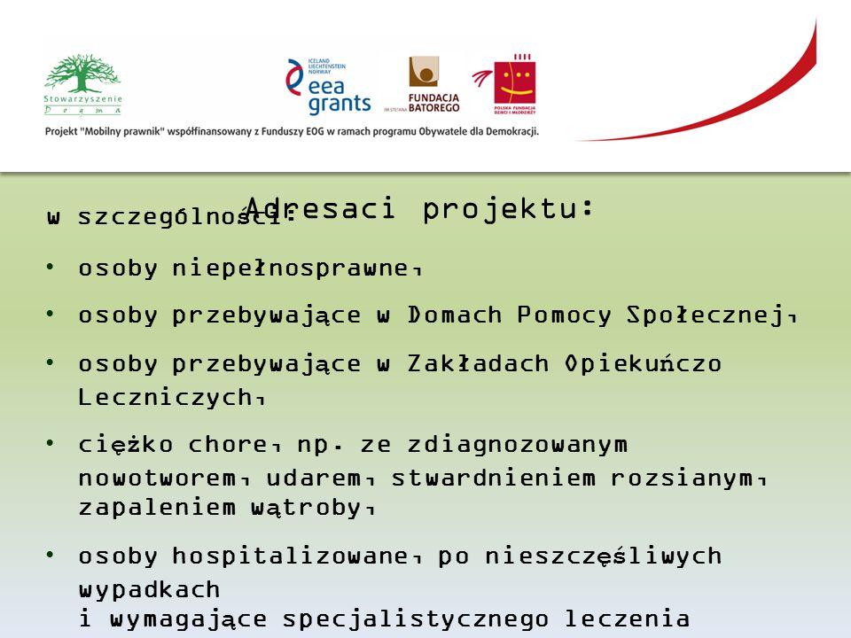 Działania Podjęcie partnerskiej współpracy w 8 podregionach woj.