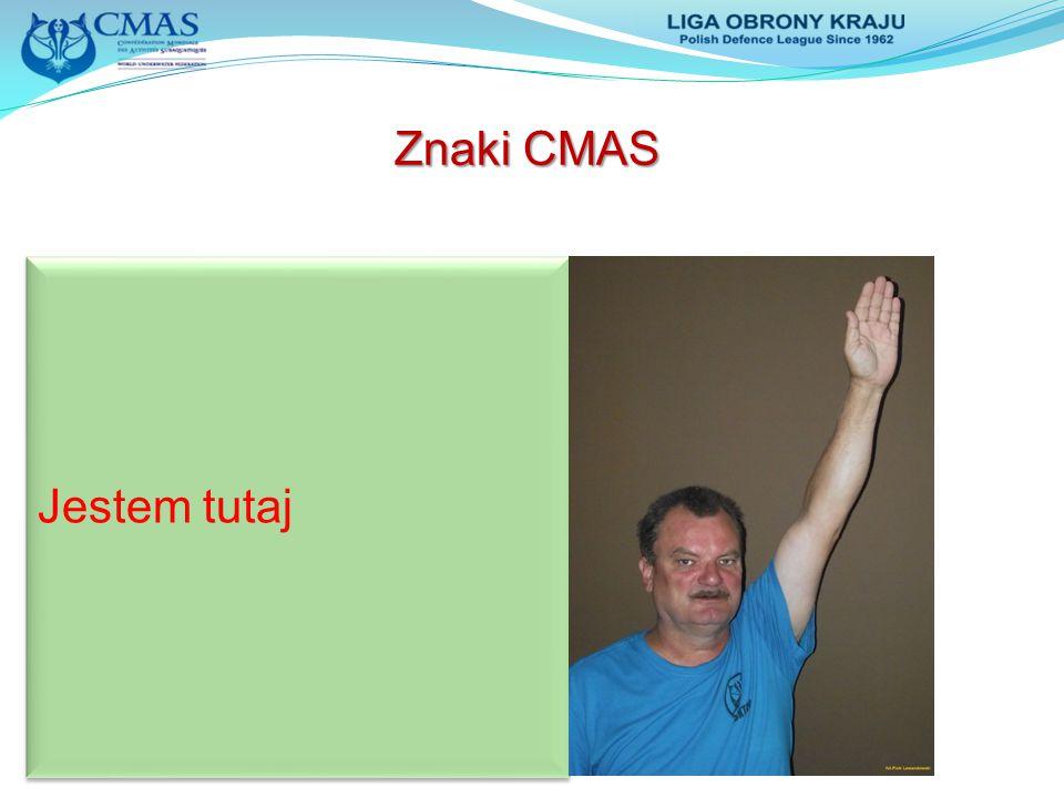 Jestem tutaj Znaki CMAS