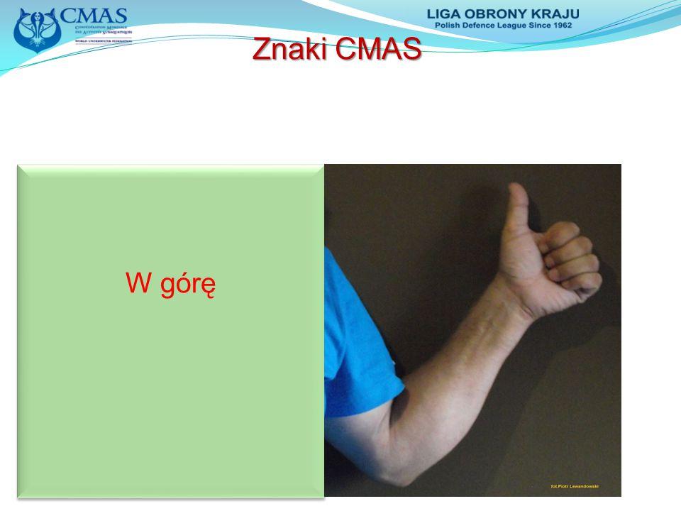 W górę Znaki CMAS