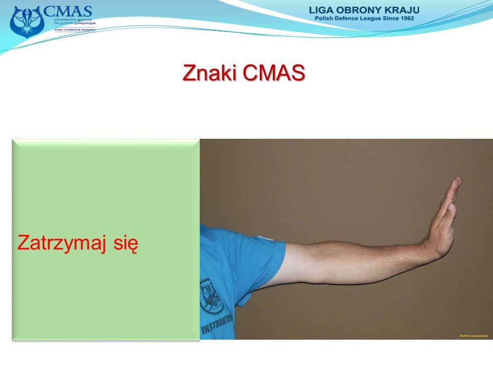 Zatrzymaj się Znaki CMAS