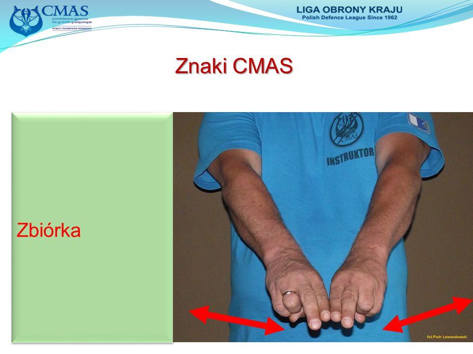Znaki CMAS Zbiórka