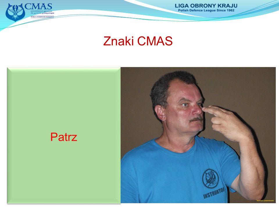 Znaki CMAS Patrz