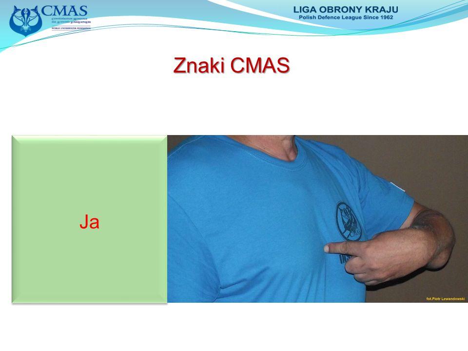 Znaki CMAS Ja