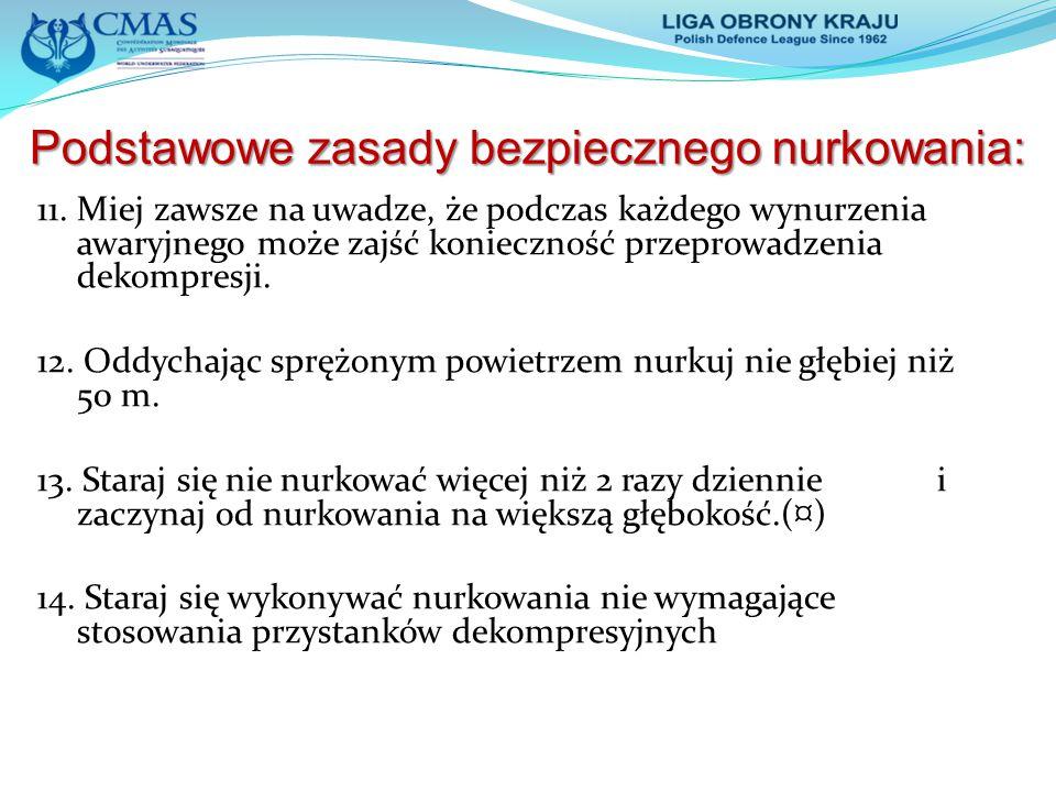 """Literatura 1.Jarosław K. – """"Medycyna nurkowa Poznań 2006 2."""