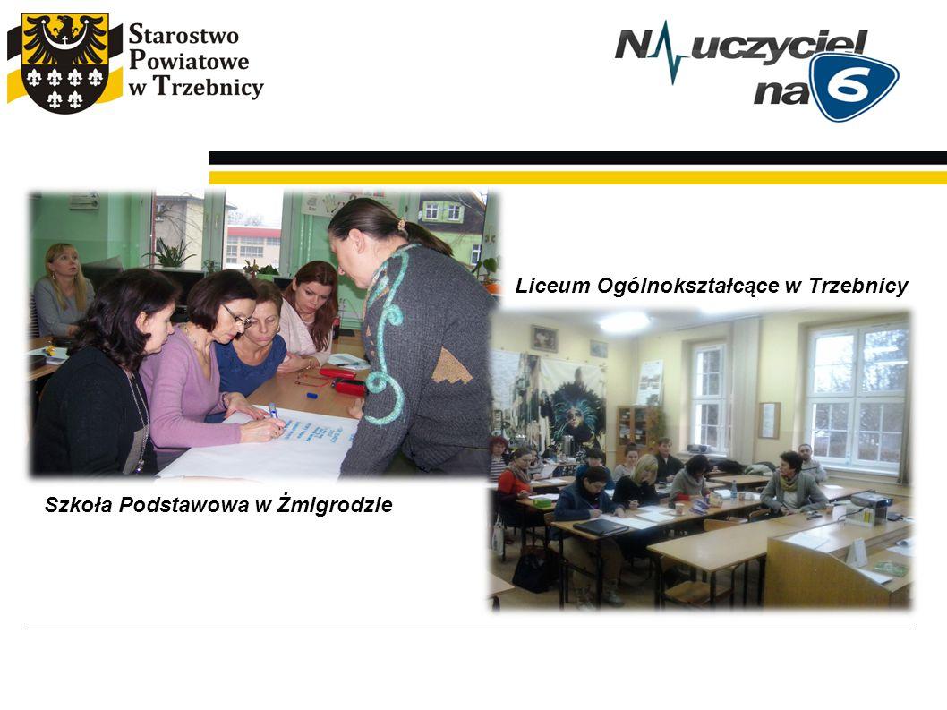 Szkoła Podstawowa w Żmigrodzie Liceum Ogólnokształcące w Trzebnicy