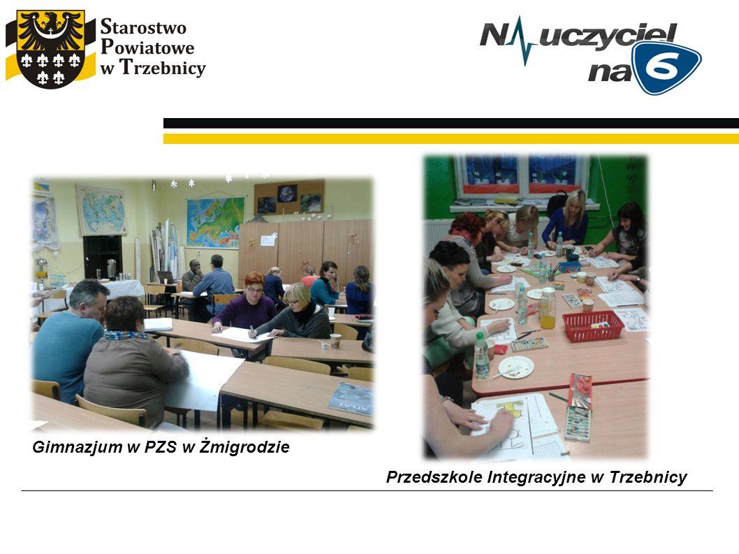 Gimnazjum w PZS w Żmigrodzie Przedszkole Integracyjne w Trzebnicy