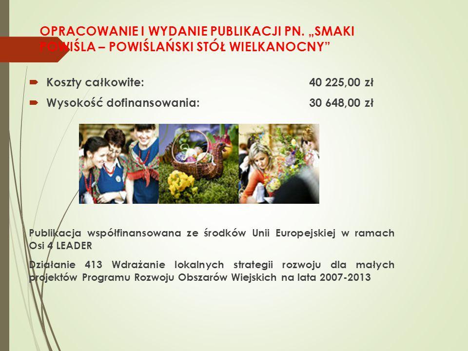 OPRACOWANIE I WYDANIE PUBLIKACJI PN.