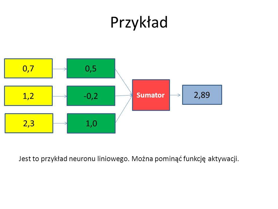 Zgodnie z regułą Hebba modyfikacja wagi w i — czyli  w i — jest proporcjonalna do iloczynu sygnału wejściowego x i propagującego się wzdłuż tego połączenia oraz sygnału wyjściowego y: Tak więc podstawowy krok procedury uczenia metodą Hebba bez nauczyciela ma postać We wzorach jak zwykle dodatni parametr  oznaczą stałą uczenia wpływającą na szybkość jak i dokładność procesu uczenia.