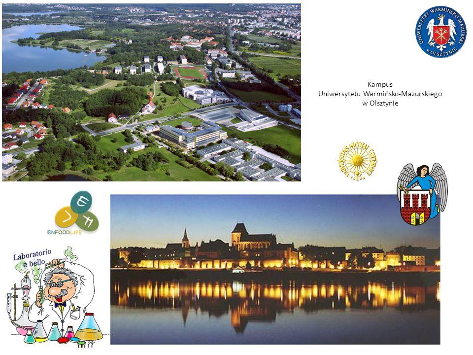 Kampus Uniwersytetu Warmińsko-Mazurskiego w Olsztynie
