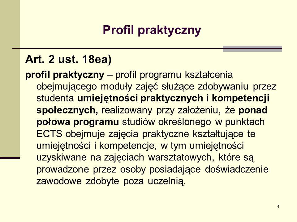 Profil praktyczny Art.2 ust.