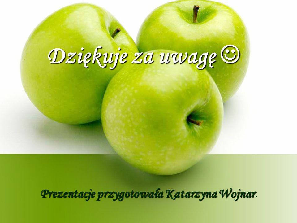 Dziękuje za uwagę Dziękuje za uwagę Prezentacje przygotowała Katarzyna Wojnar Prezentacje przygotowała Katarzyna Wojnar.
