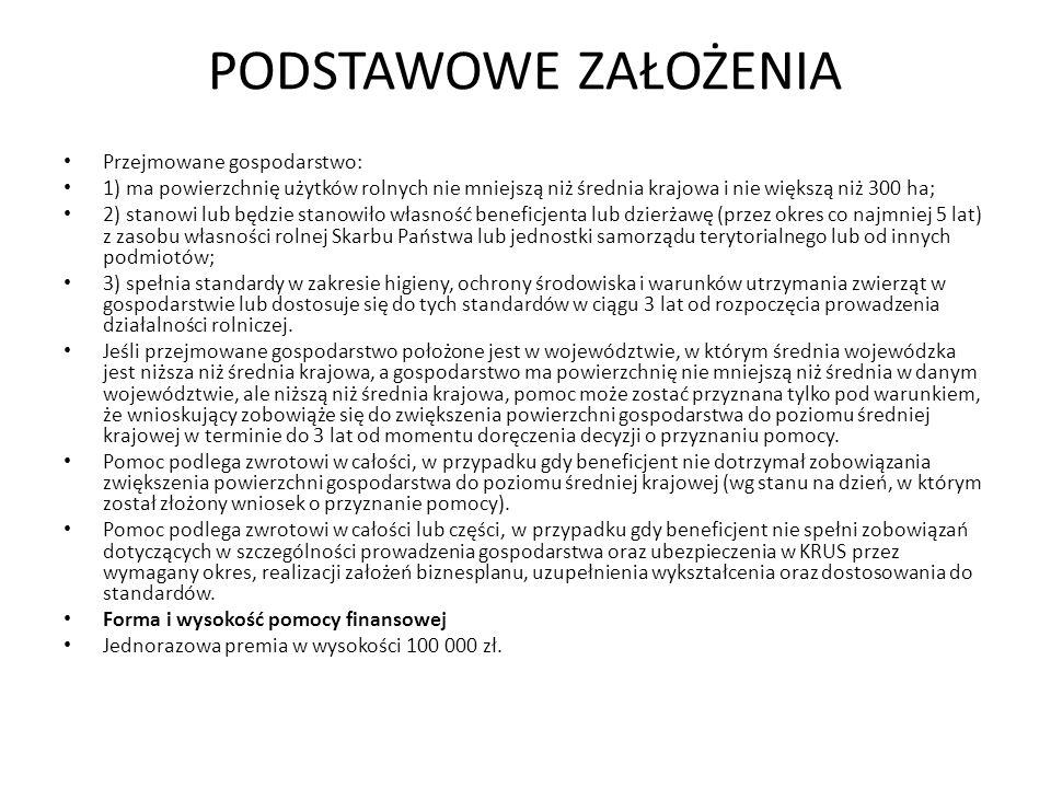 WYNIKI BADAŃ Zmiana powierzchni gospodarstwa (cała Polska)