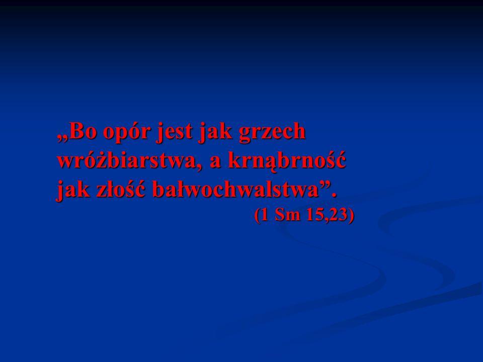 """""""Wy natomiast nie słuchajcie waszych proroków, waszych wróżbitów, waszych nawiedzanych snami, waszych objaśniaczy znaków ani waszych czarowników, którzy wam mówią(…) (Jr 27,9)"""