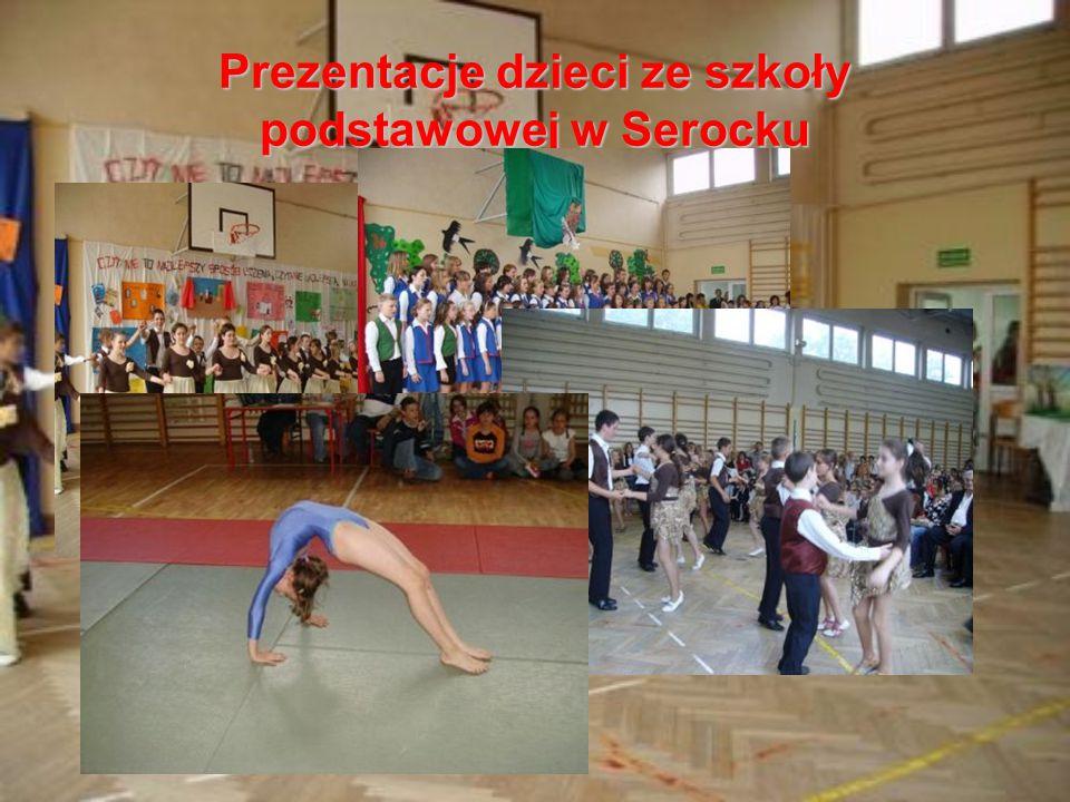 Prezentacje dzieci ze szkoły podstawowej w Serocku