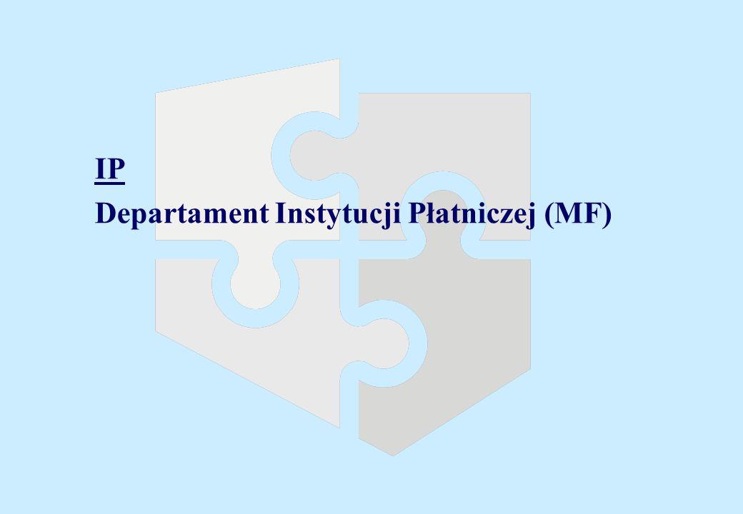 IIP Departament Instytucji Płatniczej (MF)