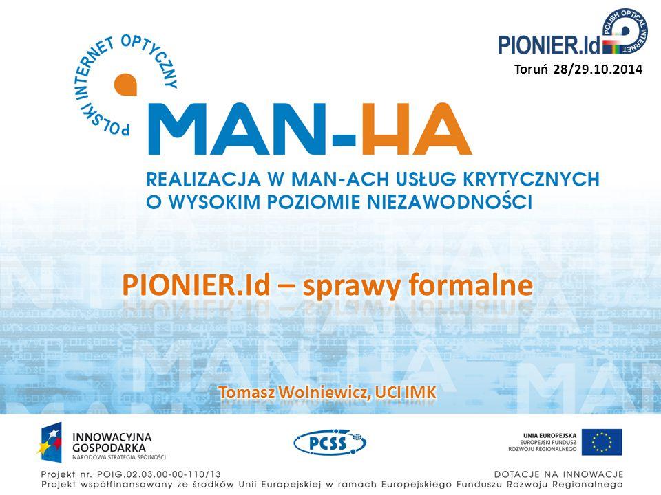Obowiązujące dokumenty są dostępne na stronie federacji: http://aai.pionier.net.pl/index.php?page=dokumenty Regulamin Federacji – opisuje podstawowe pojęcia i kwestie formalne Warunki techniczne Federacji – parametry techniczne, opisy protokołów, kluczy zabezpieczających, logów systemowych itp.