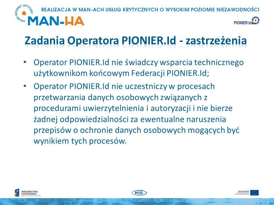 W przeciwieństwie do eduroam, operator regionalny nie prowadzi żadnego serwera, w zasadzie stanowi tylko punkt kontaktowy dla swoich abonentów i udziela lokalnego wsparcia technicznego.