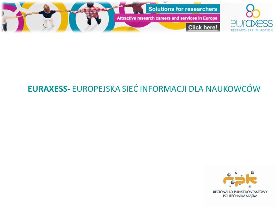 EURAXESS- EUROPEJSKA SIEĆ INFORMACJI DLA NAUKOWCÓW