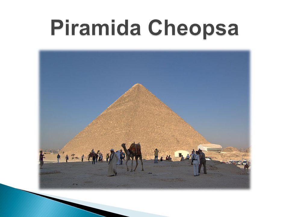 O budowie piramidy pisał już Herodot: Cheops na wystawienie piramidy potrzebował dwudziestu lat.