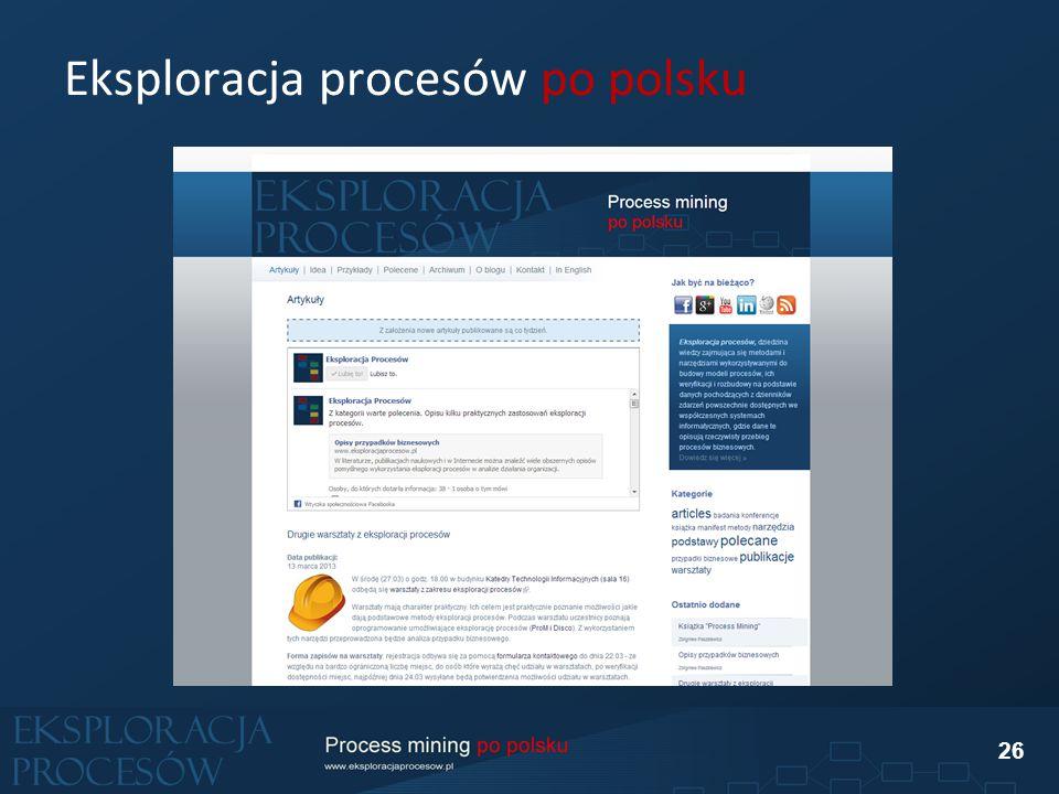 Eksploracja procesów po polsku 26