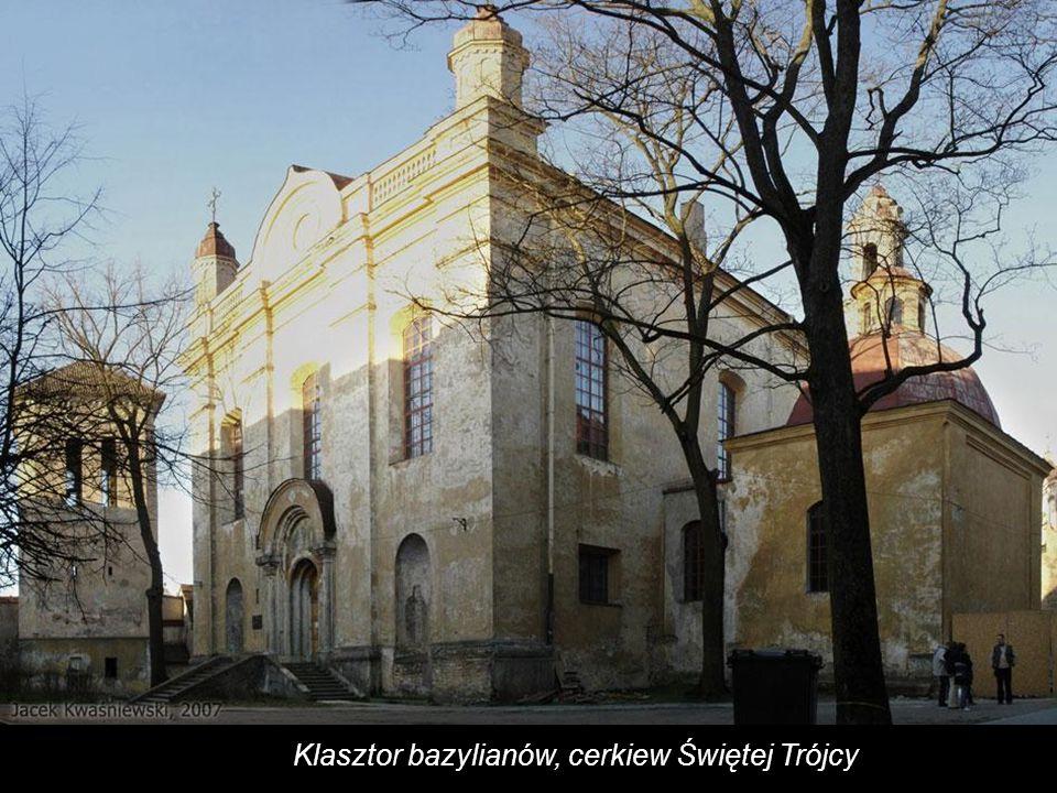 Brama do klasztoru Bazylianów.