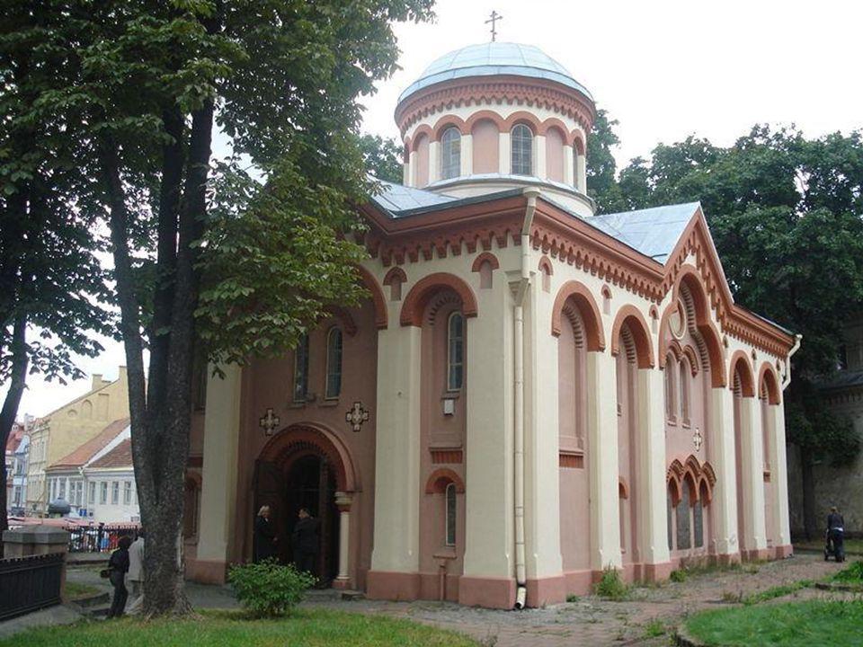 Cerkiew św. Praskiewy (Piatnicka). Pierwszy murowany budynek w Wilnie (1345r ).