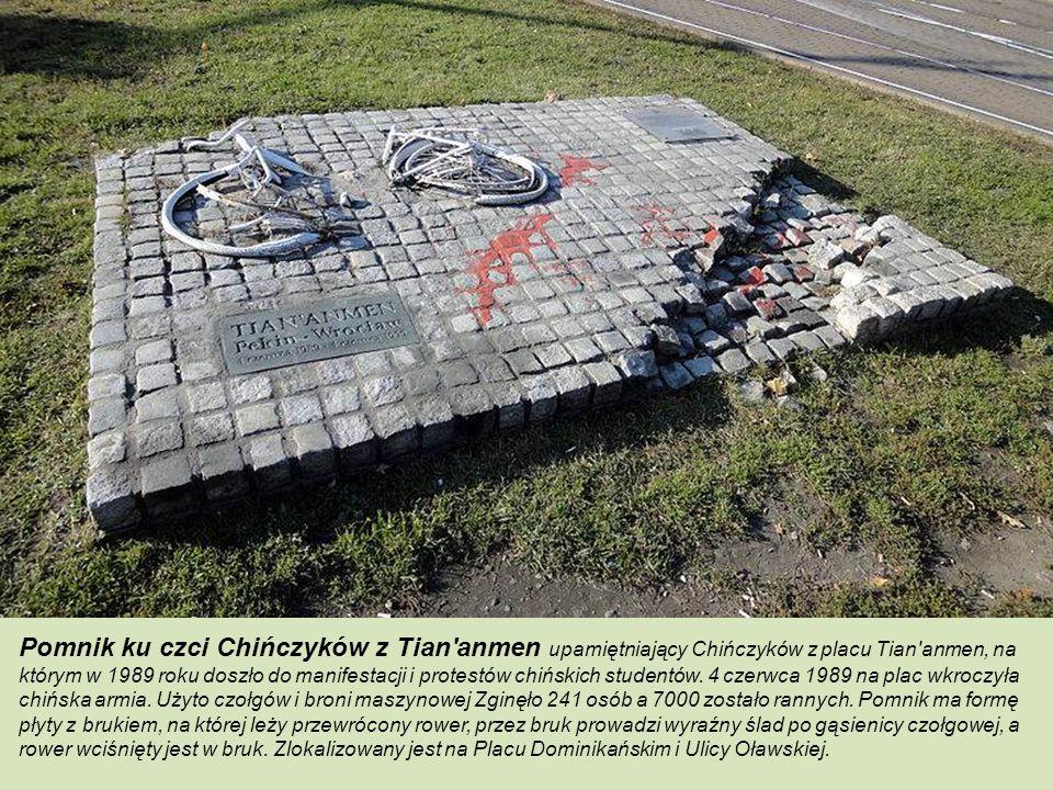 Pomnik Bohaterów Powstania Węgierskiego to pomnik upamiętniający powstańców węgierskich z 1956 roku. Pomnik położony w obrębie Nadodrza odsłonięto 2.1