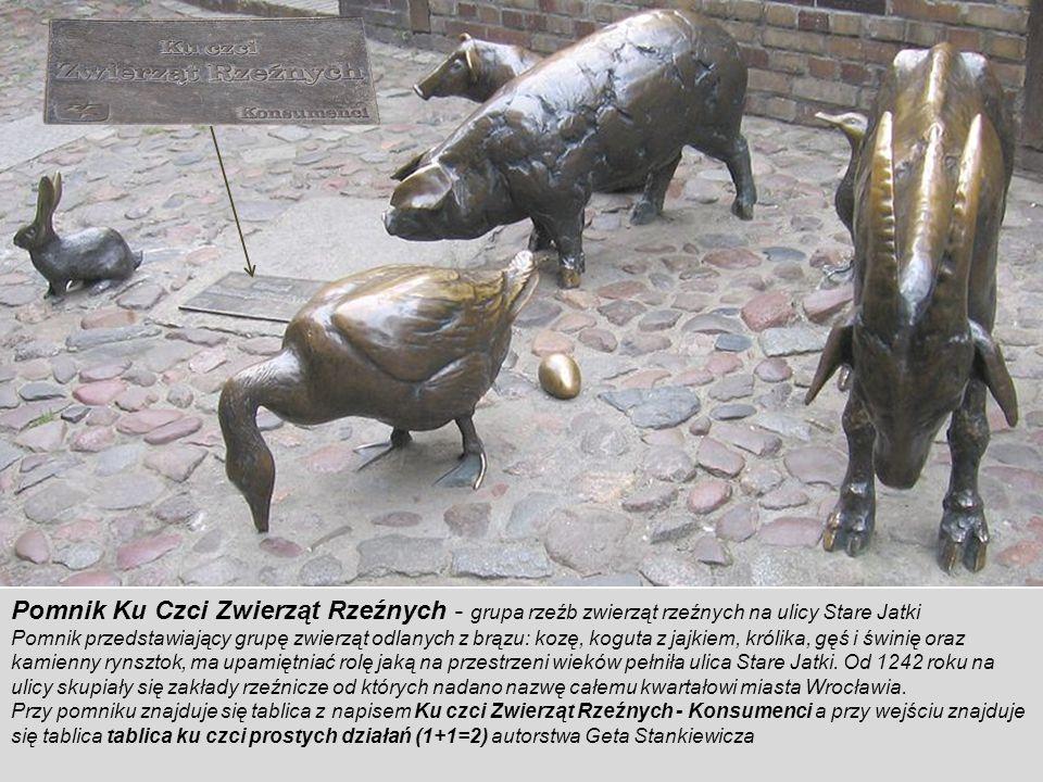 Pomnik Wspólnej Pamięci - monument poświęcony pamięci mieszkańców Wrocławia których mogiły zostały zlikwidowane w latach powojennych. Pomnik Wspólnej