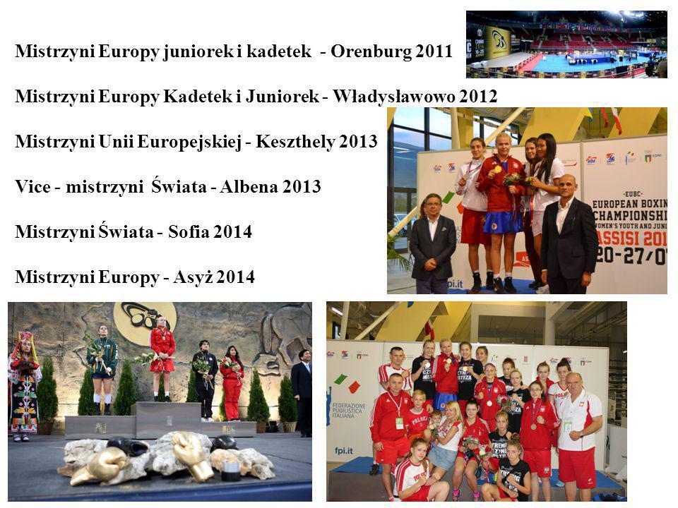 Mistrzyni Europy juniorek i kadetek - Orenburg 2011 Mistrzyni Europy Kadetek i Juniorek - Władysławowo 2012 Mistrzyni Unii Europejskiej - Keszthely 2013 Vice - mistrzyni Świata - Albena 2013 Mistrzyni Świata - Sofia 2014 Mistrzyni Europy - Asyż 2014