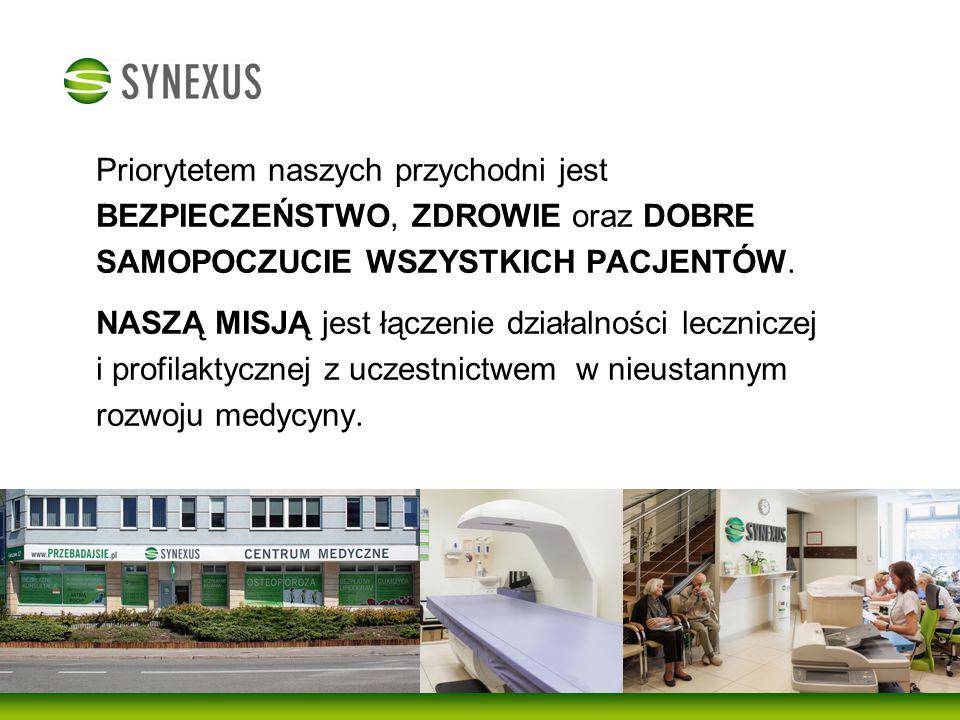 Badania profilaktyczne Centrum Medyczne Synexus prowadzi bezpłatne badania profilaktyczne, które mają ogromne znaczenie dla ochrony zdrowia.