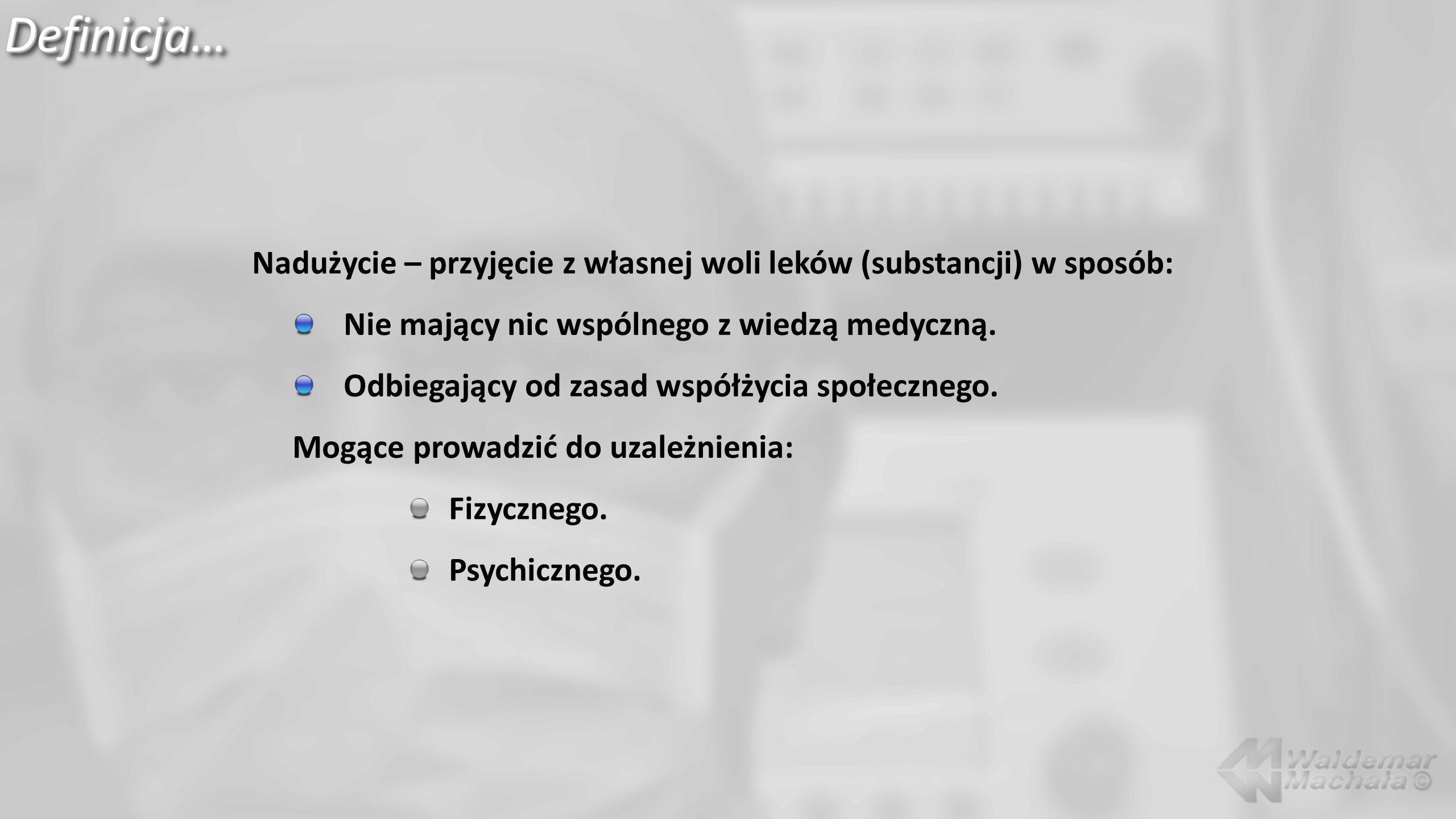 Halucynogeny…, LSD/ fencyklidyna… Wystąpienie objawów: 1-2 godz.