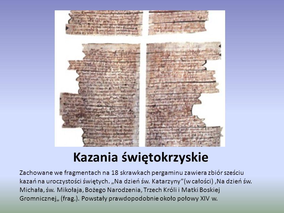 Psałterz Floriański Spisany na pergaminie liczy 301 kart, bogato zdobiony.