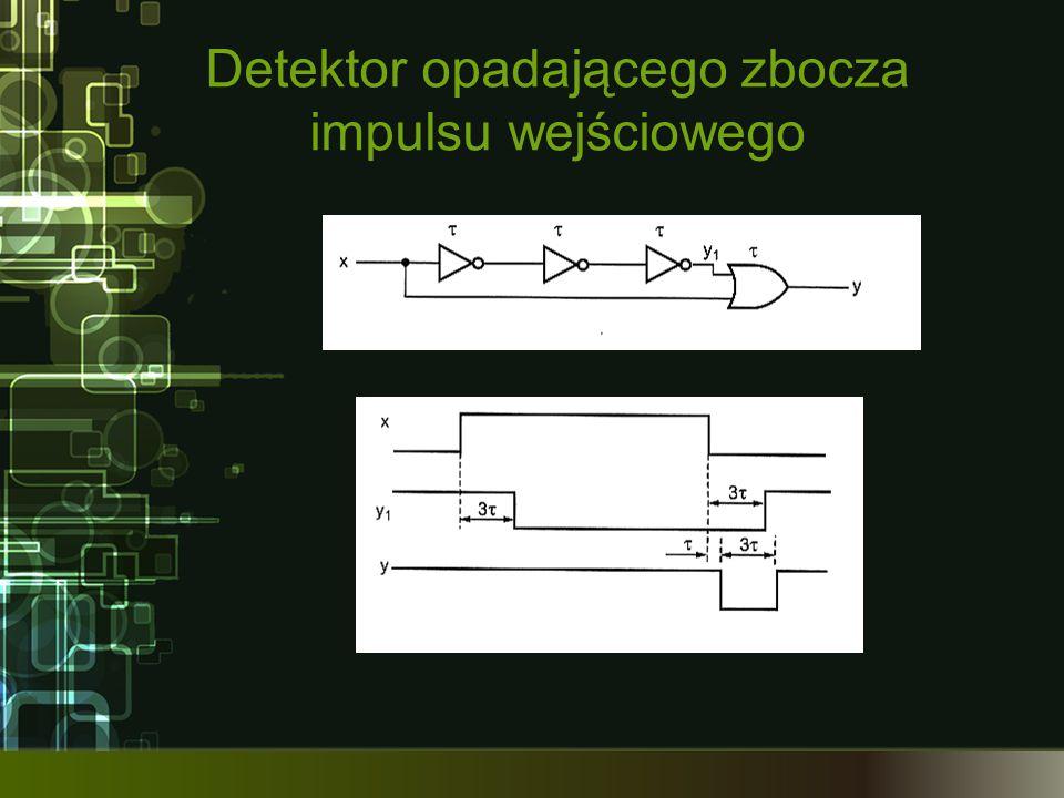 Detektor opadającego zbocza impulsu wejściowego