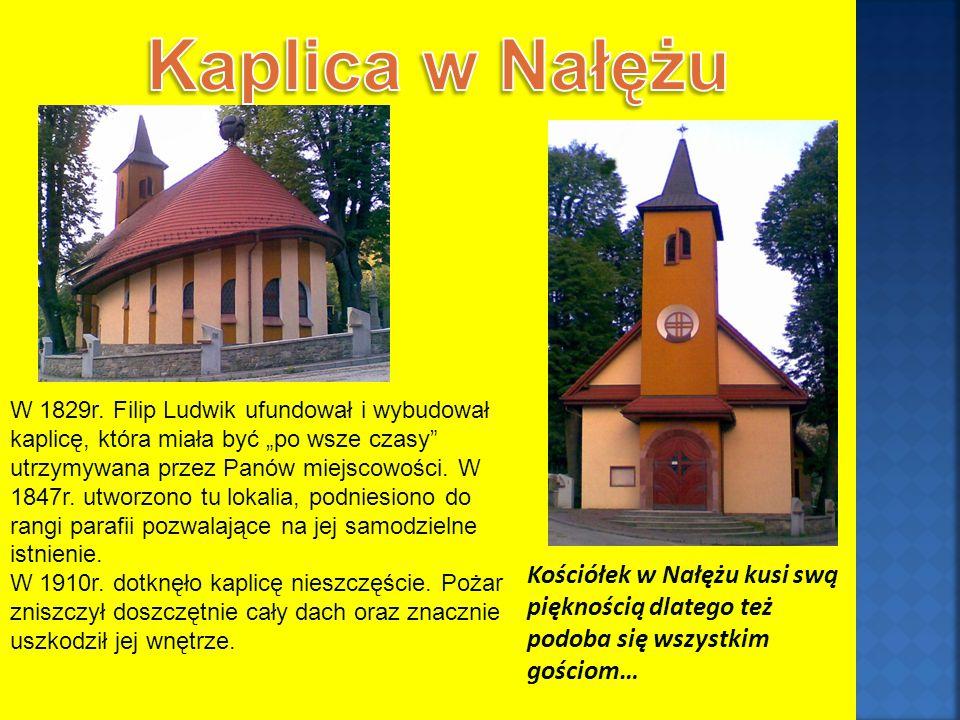 Kościółek w Nałężu kusi swą pięknością dlatego też podoba się wszystkim gościom… W 1829r.