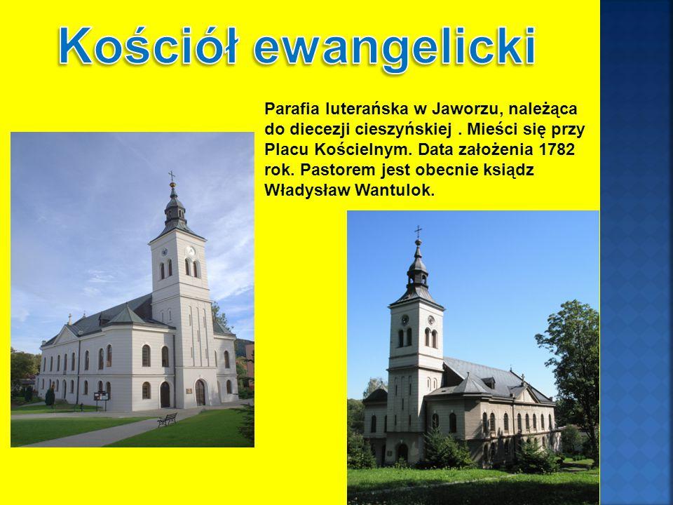 Parafia luterańska w Jaworzu, należąca do diecezji cieszyńskiej.