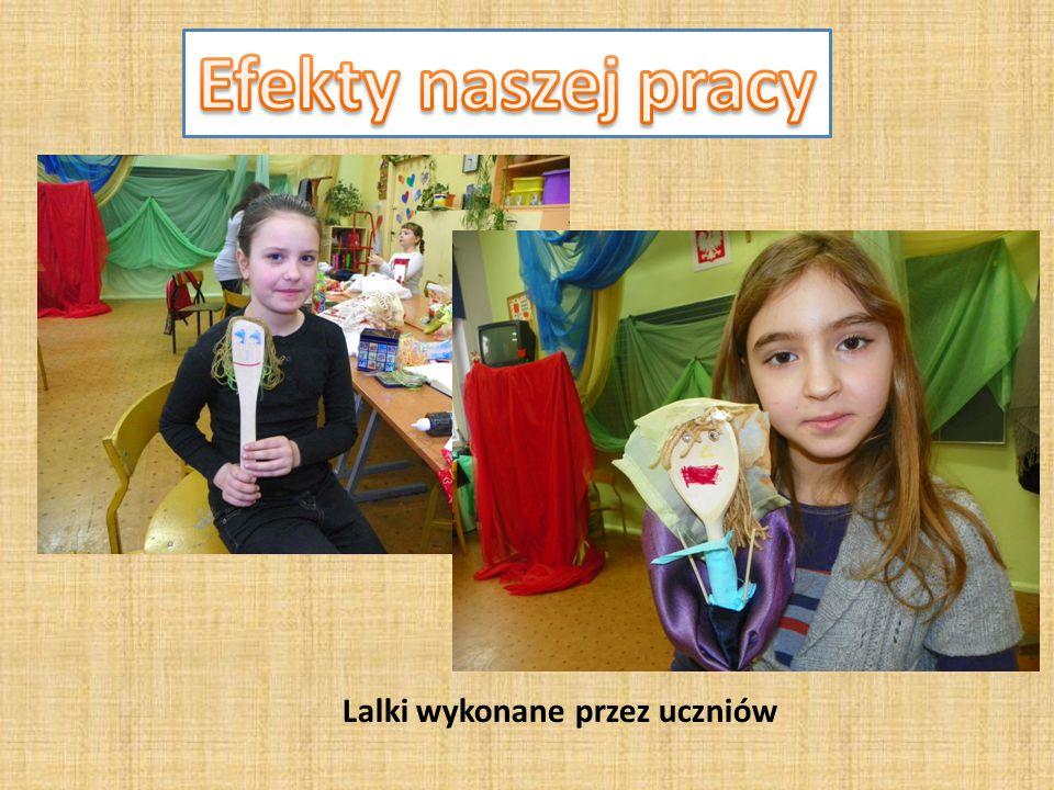 Lalki wykonane przez uczniów