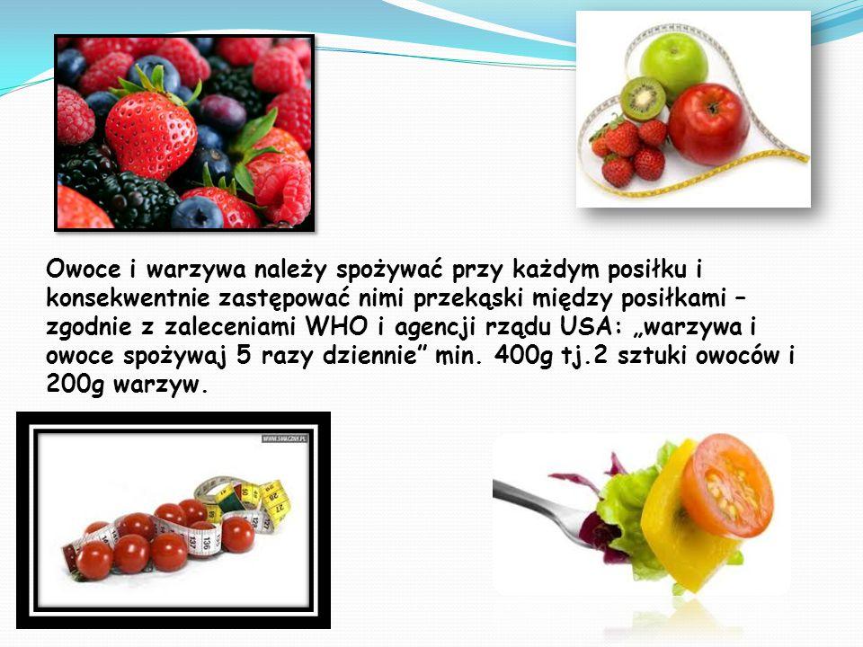 Wyniki szeregu badań epidemiologicznych wskazują, że spożywanie dużych ilości warzyw i owoców zmniejsz ryzyko zachorowań na różne nowotwory, szczególnie przełyku, żołądka, okrężnicy, odbytu i trzustki.